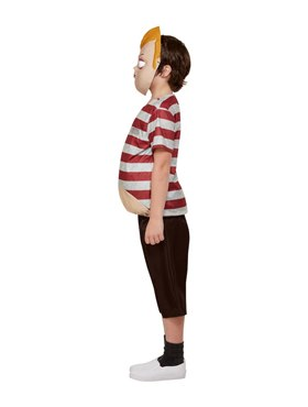 Child Addams Family Pugsley Costume - Back View