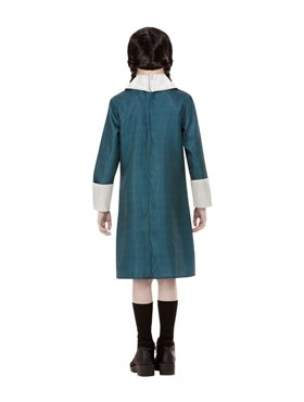 Child Addams Family Wednesday Costume - Side View