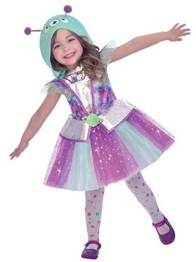 Child Adorable Alien Costume