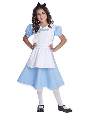 Child Alice Costume - Side View