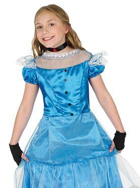 Child Alice Costume - Back View