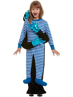 Child Alien Abduction Costume