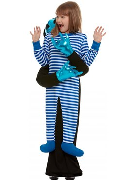 Child Alien Abduction Costume - Back View