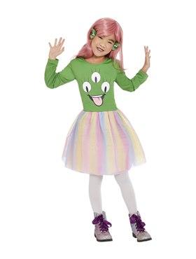 Child Alien Costume - Back View