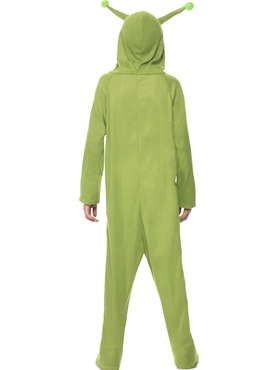 Child Alien Onesie Costume - Side View