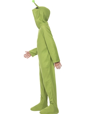 Child Alien Onesie Costume - Back View
