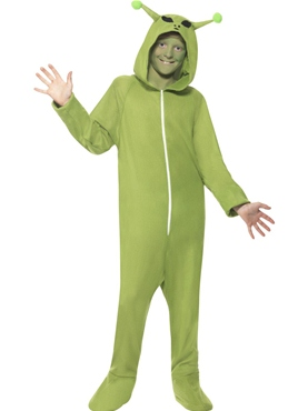 Child Alien Onesie Costume