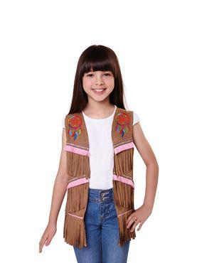 Child American Indian Waistcoat
