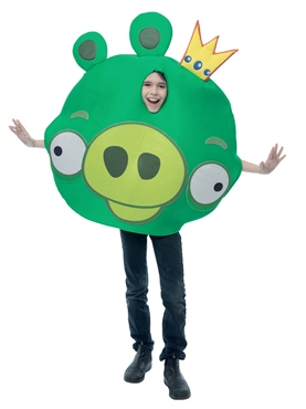 Child Angry Birds King Pig Costume
