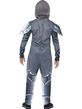 Child Armoured Knight Costume - Side View