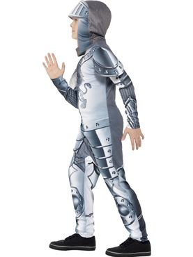 Child Armoured Knight Costume - Back View
