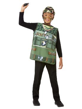 Child Army Kit - Back View