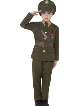 Child Army Officer Costume