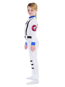Child Astronaut Costume - Side View