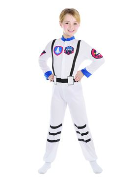 Child Astronaut Costume - Back View