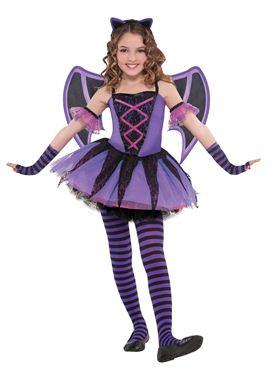 Child Ballerina Bat Costume