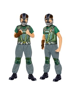 Child Bane Costume - Side View