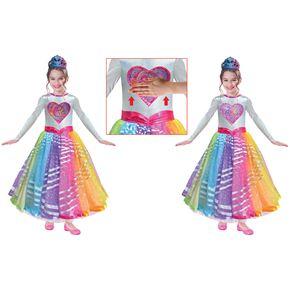 Child Barbie Deluxe Rainbow Magic Costume