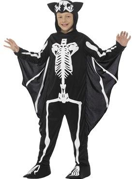 Child Bat Skeleton Costume