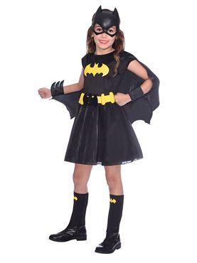 Child Batgirl Classic Costume - Side View