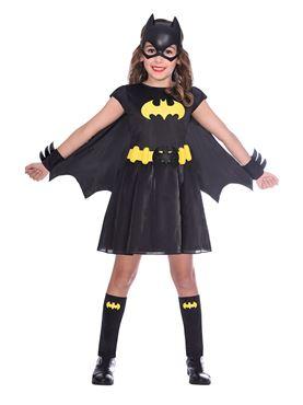 Child Batgirl Classic Costume - Back View