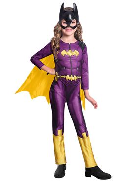 Child Batgirl Comic Style Costume - Back View