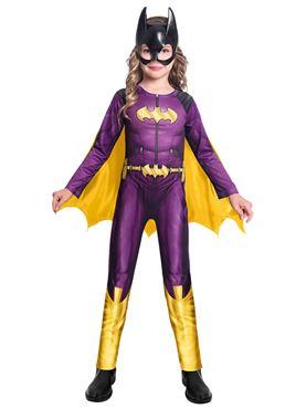 Child Batgirl Comic Style Costume