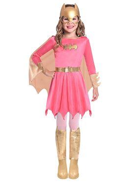 Child Batgirl Pink Costume