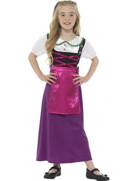 Child Bavarian Princess Costume