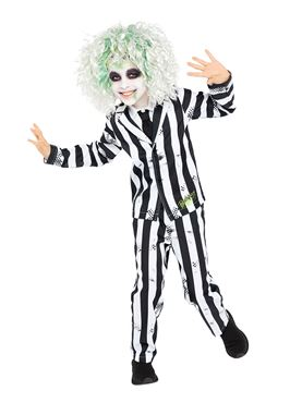 Child Boys Beetlejuice Costume