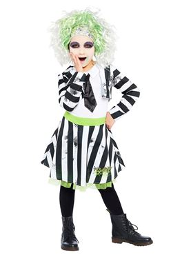 Child Girls Beetlejuice Costume Couples Costume