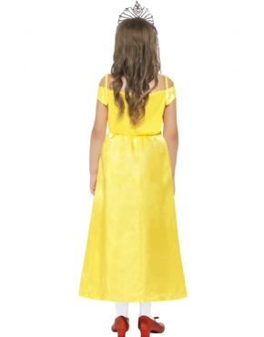 Child Belle Beauty Costume - Side View