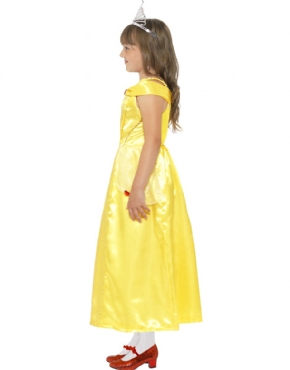 Child Belle Beauty Costume - Back View