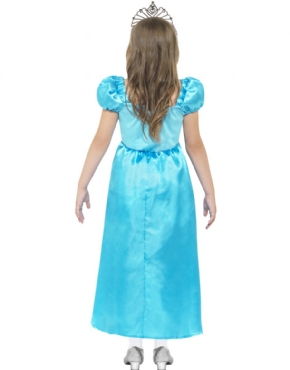 Child Rags to Riches/Ice Queen Costume - Side View
