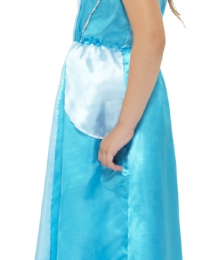 Child Rags to Riches/Ice Queen Costume - Back View