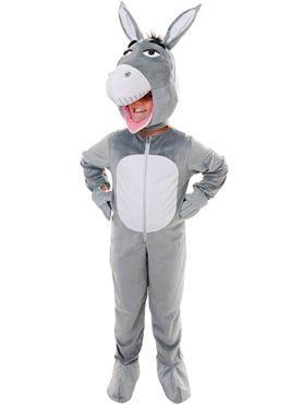 Child Big Head Donkey Costume