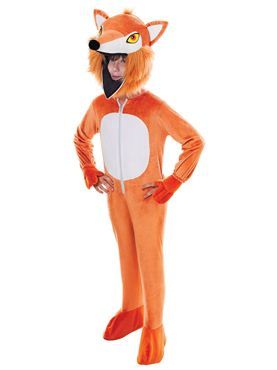 Child Big Head Fox Costume
