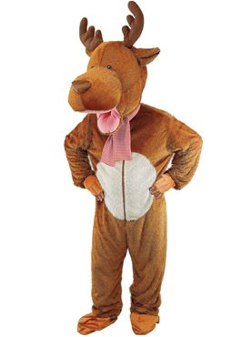 Child Big Head Reindeer Costume