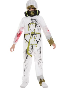Child Biohazard Suit Costume