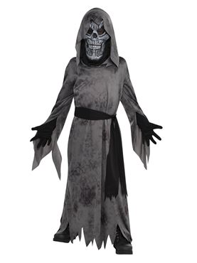 Child Black Ghastly Ghoul Costume