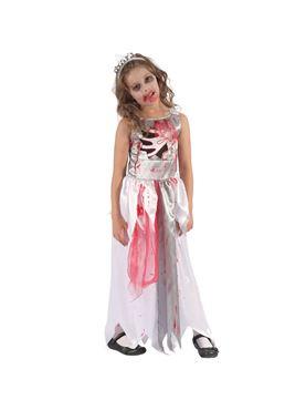 Child Bloody Zombie Queen Costume