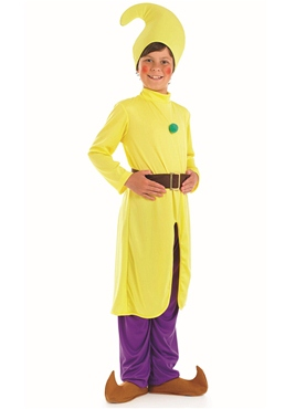 Child Yellow Dwarf Costume