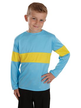 Child Blue and Yellow Henry Top
