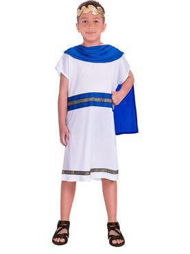 Child Blue Caesar Costume