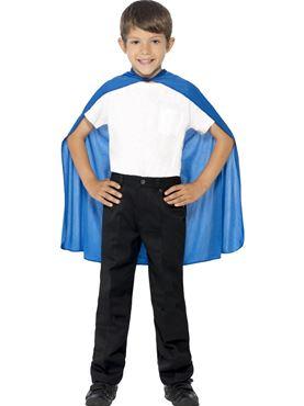 Child Blue Cape