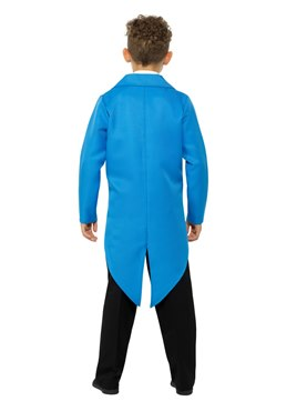Child Blue Tailcoat - Side View