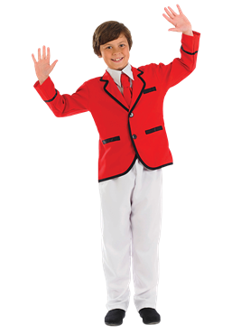 Child Boys Holiday Camp Helper Costume Couples Costume