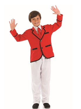Child Boys Holiday Camp Helper Costume