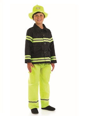 Child British Fireman Costume
