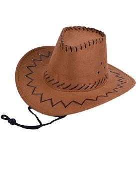 Child Brown Cowboy Hat